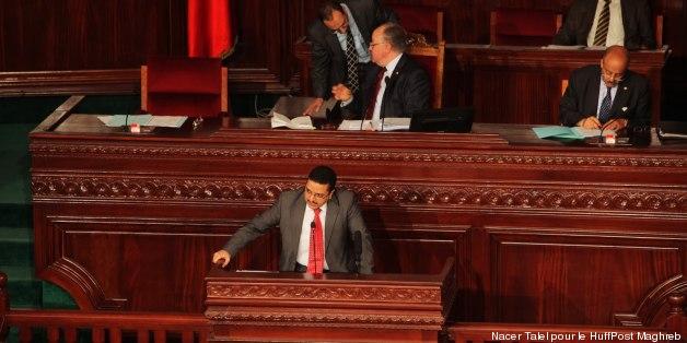 Habib Khedher à la lecture du rapport sur le projet de Constitution