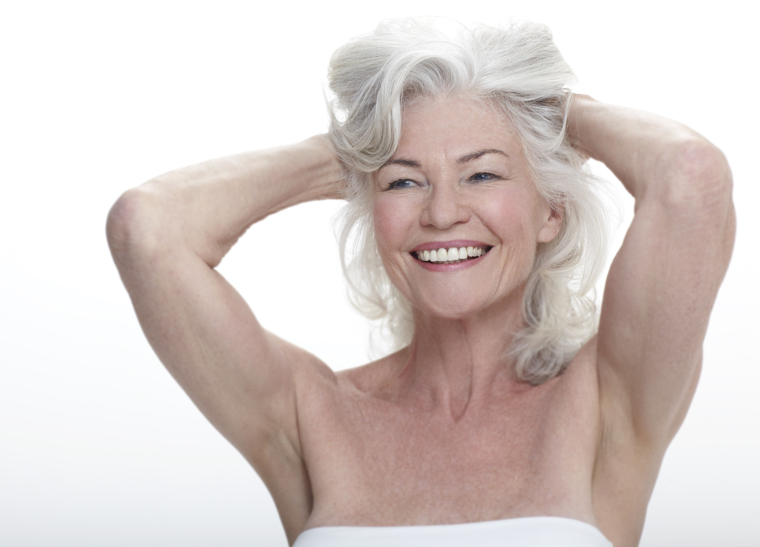 Gray hair black women nude