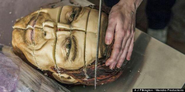 Life-Sized 'Dexter' Cake Looks Deliciously Morbid (PHOTOS)