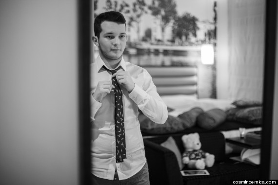 cosmin with tie