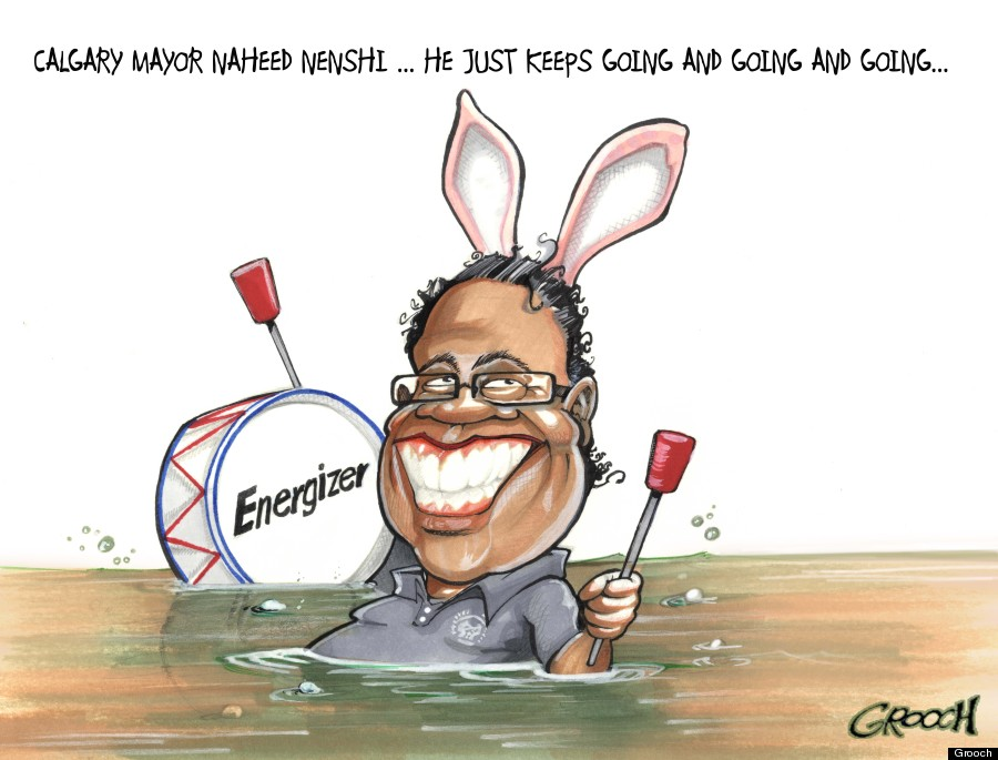 naheed nenshi cartoon