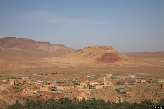 high atlas foothills
