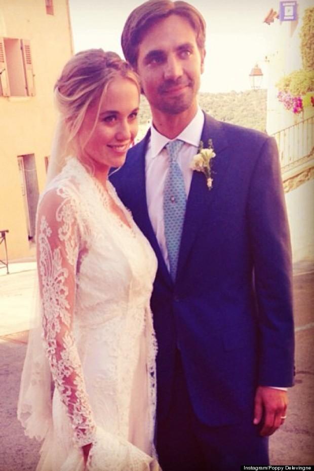 prince harrys ex gets married