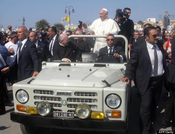 pope fiat africa