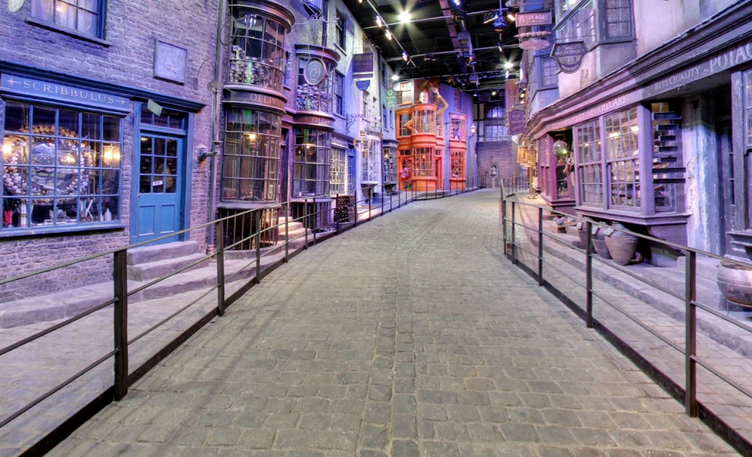 Google is even mapping the fictional world of harry potter huffpost gumiabroncs Gallery