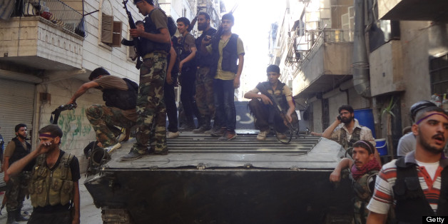 U.S. Aid To Syrian Rebels Delayed By Congress: Report