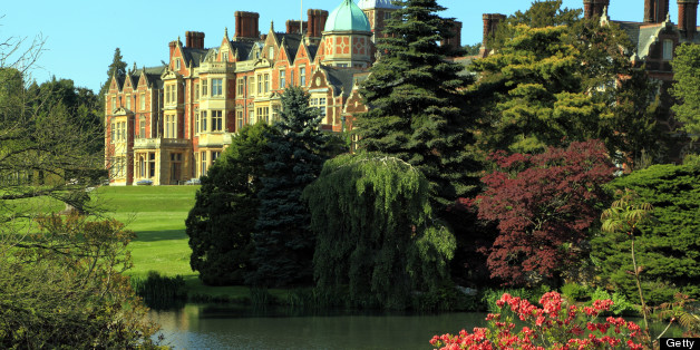 The worker was found on the Queen's Sandringham Estate