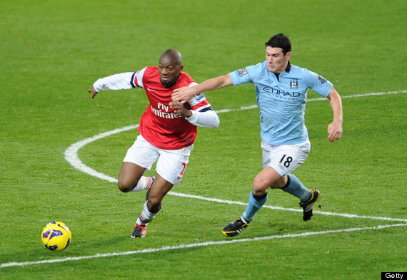 gareth barry arsenal
