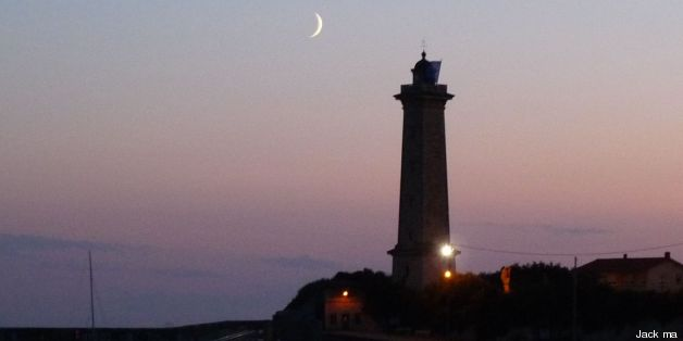 "phare de St-Georges-de-Didonne (17), France ""by night"" (début de la lune de ramadan)"