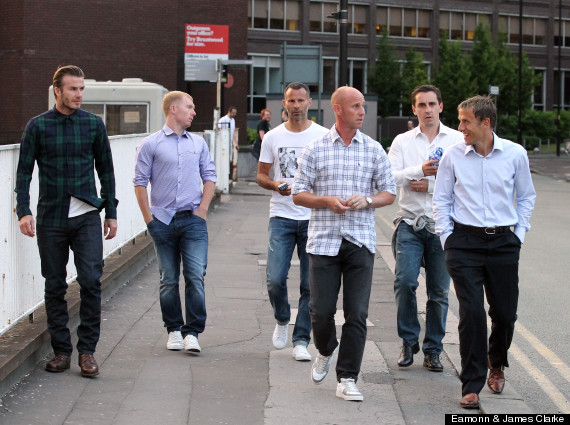 david beckham paul scholes nicky butt ryan giggs
