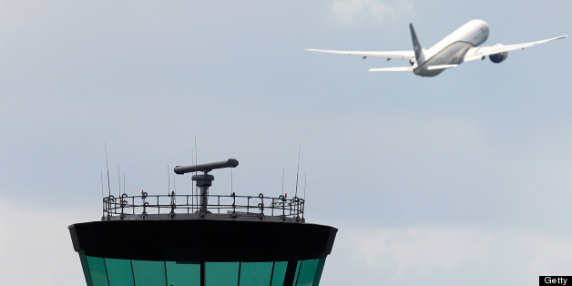 Flights have been disrupted across the south-east of England