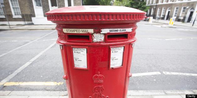 A Royal Mail Group post box