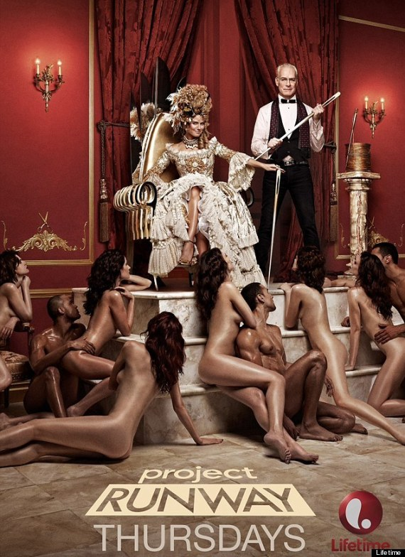 Heidi Klum's 'Project Runway' Season 12 Poster Featuring Naked Models  Banned From LA Billboards (NSFW PICTURE)