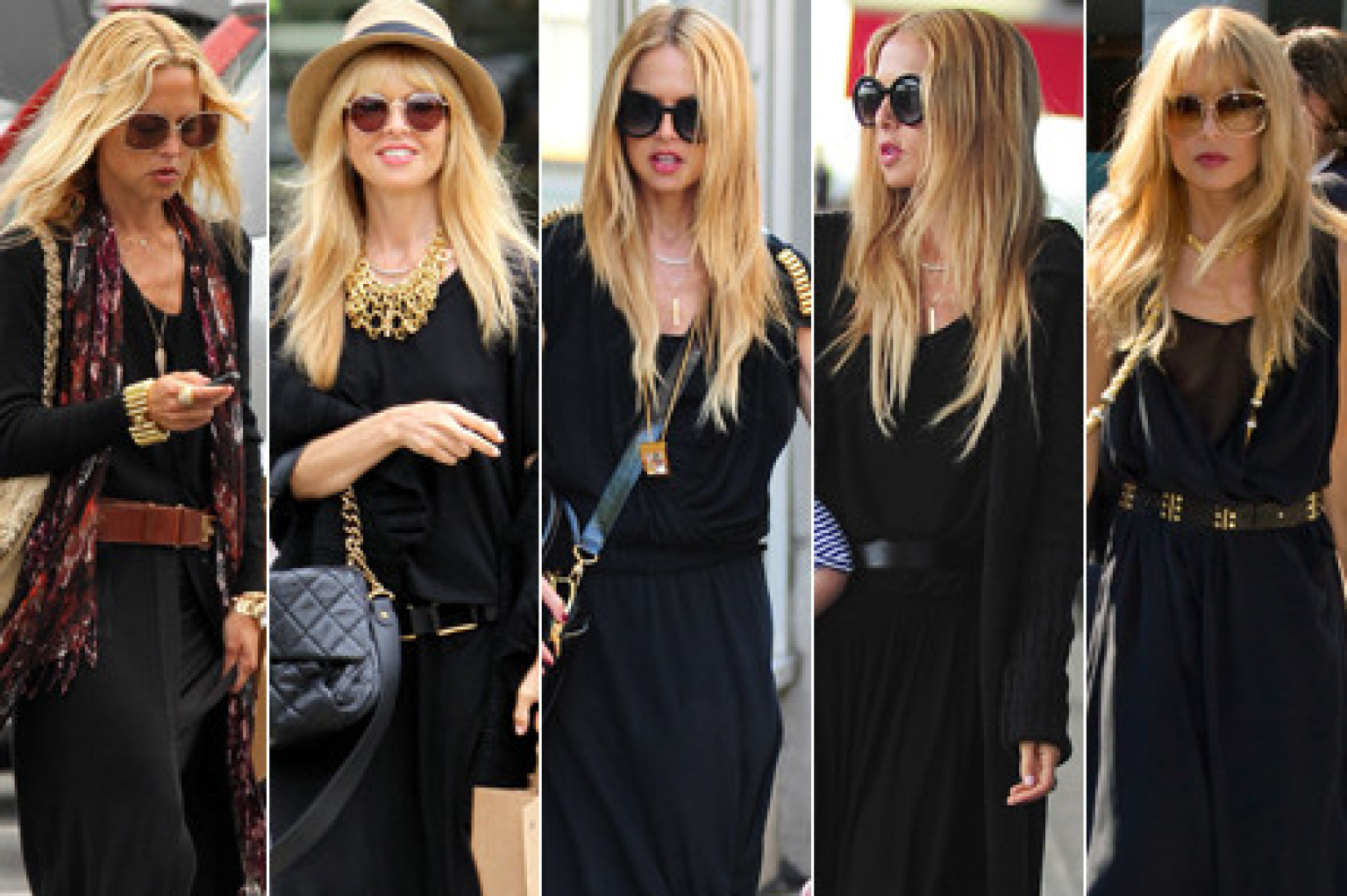 Black Maxi Dresses Are Totally Rachel Zoe S Go To Look Photos Huffpost