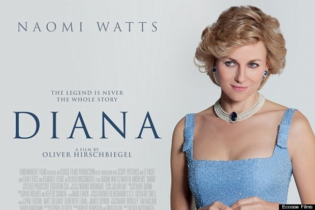 naomi watts princess diana film poster