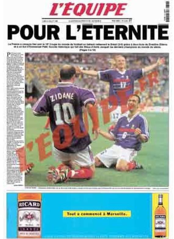 Vid os coupe du monde 98 la victoire de l 39 quipe de - Tous les buts coupe du monde 1998 ...