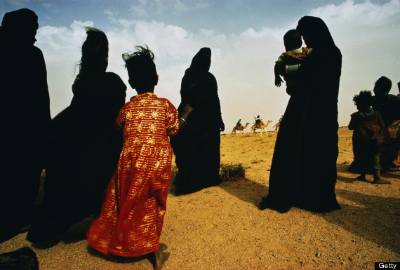 woman mauritania