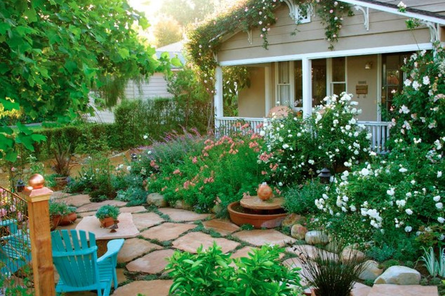 10 cottage gardens that are just too charming for words photos huffpost - Garden Design Cottage Style