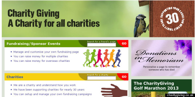 The charitygiving.co.uk website carried a statement saying that fundraising had been suspended