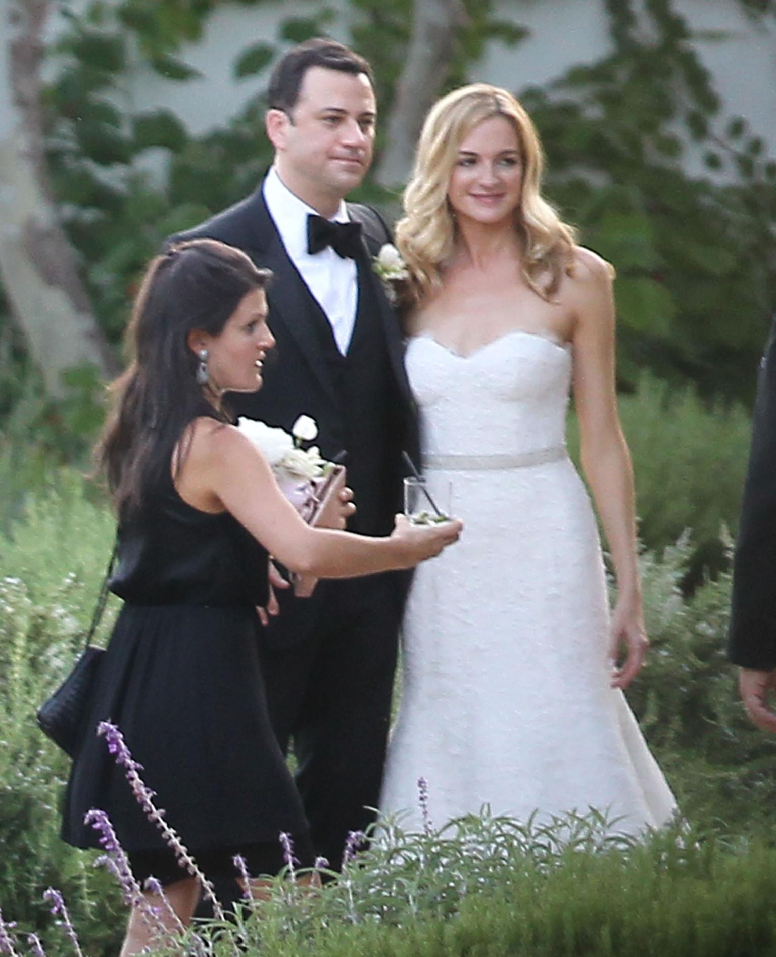 jimmy kimmel married late night host weds molly mcnearney