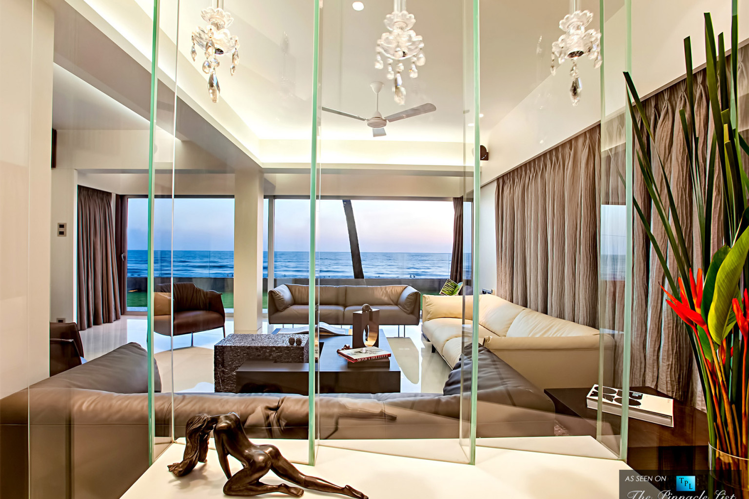 peek inside this juhu beach apartment in the beverly hills of bollywood photos huffpost - Inside Luxury Beach Homes
