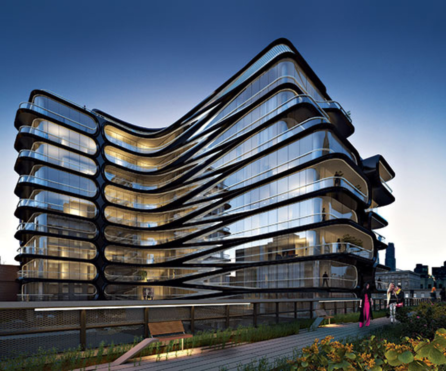 Step Inside A Glamorous Modern Apartment On Nyc S High: Zaha Hadid Unveils First NYC Building: A 'Don Draper
