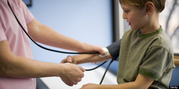 Blood pressure in children varies but the surveys showed a clear upward trend