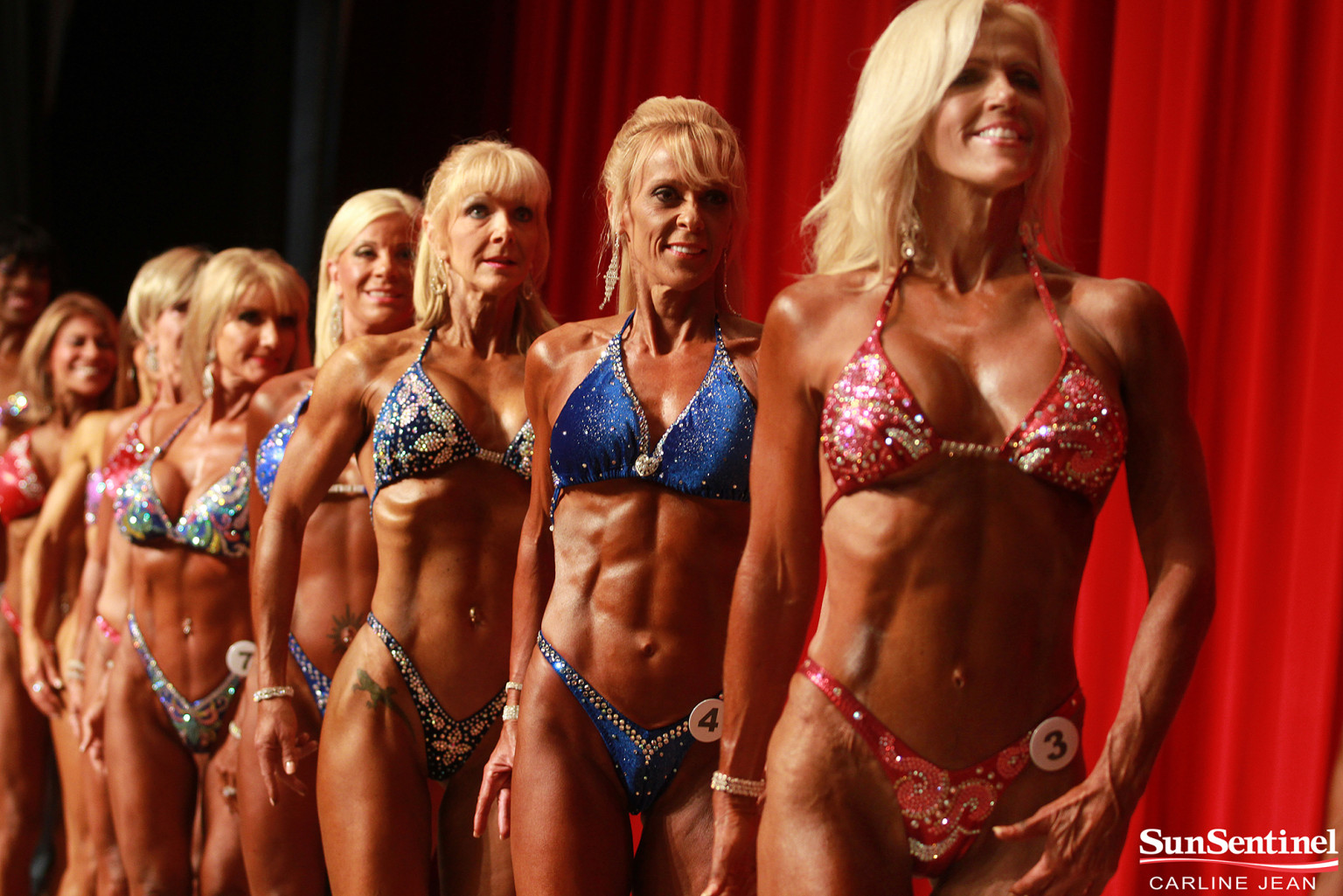 Older Bodybuilders Flourish At Florida Championship Event