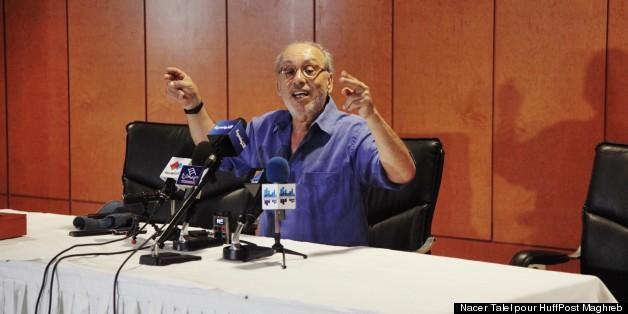 Fadhel Jaibi présente Tsunami lors de la conférence de presse du lundi 15 juillet 2013