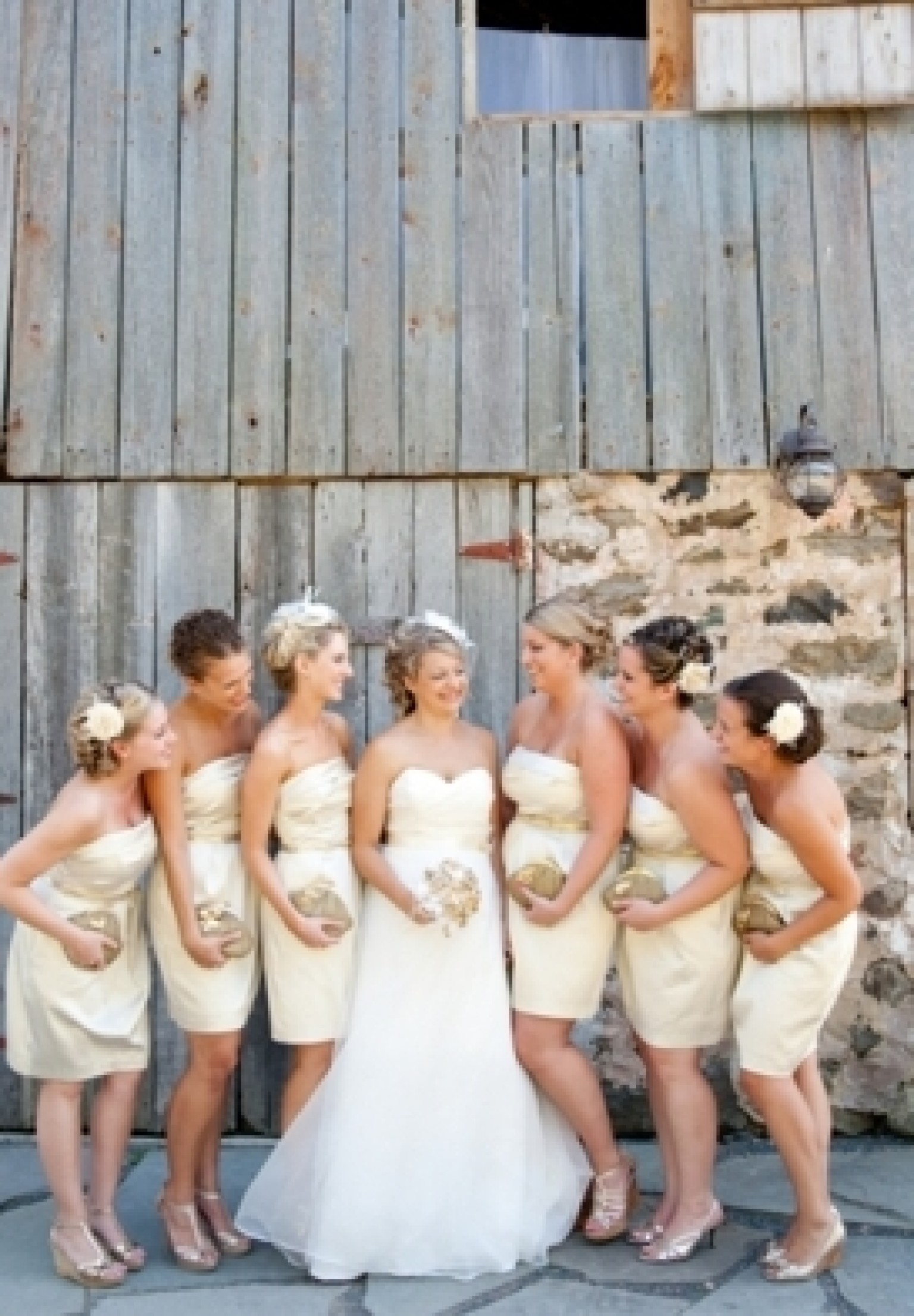 White bridesmaid dresses are fresh pretty and ethereal photos white bridesmaid dresses are fresh pretty and ethereal photos huffpost ombrellifo Choice Image