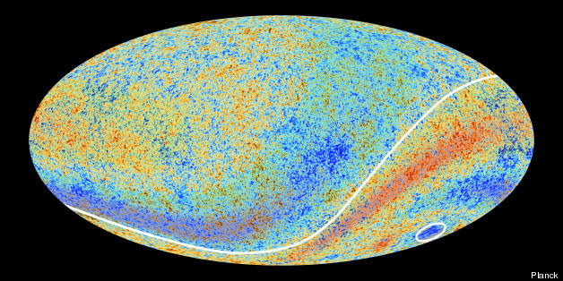 The most recent Planck survey showed evidence of anomalies in space - but no Dark Flow