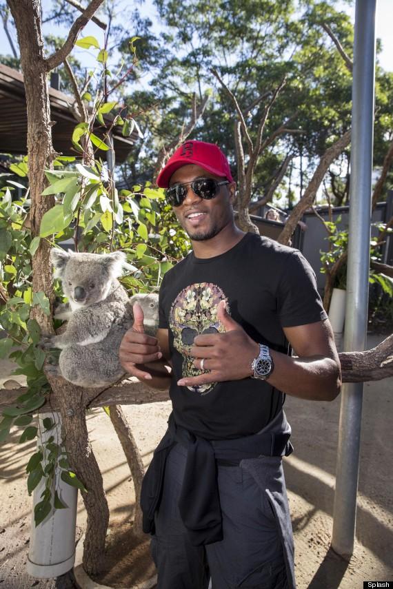 patrice evra taronga zoo