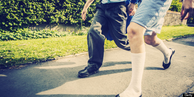 Gowerton School Bans Boys Wearing Shorts In Hot Weather, So They Wear Skirts Instead