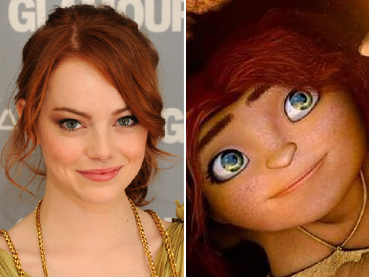 Celebrities Who Look Just Like The Animated Characters They - People cartoon look alikes