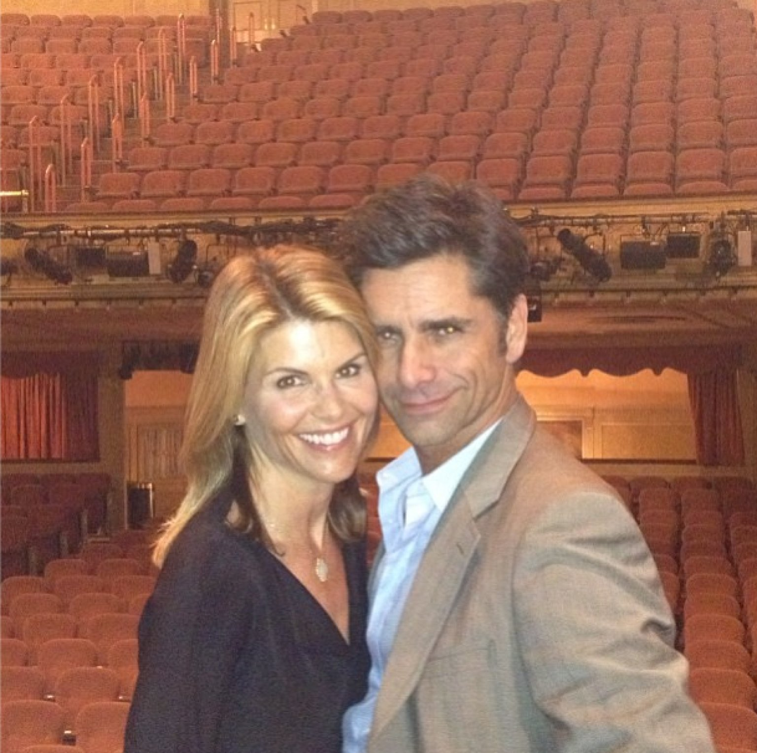 Full House Reunion John Stamos Lori Loughlin And Bob Sa s