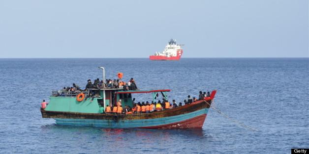 Australian boat asylum seekers