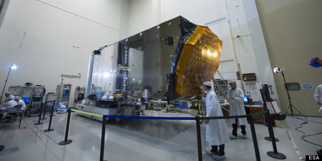 ESA's AlphaSat satellite