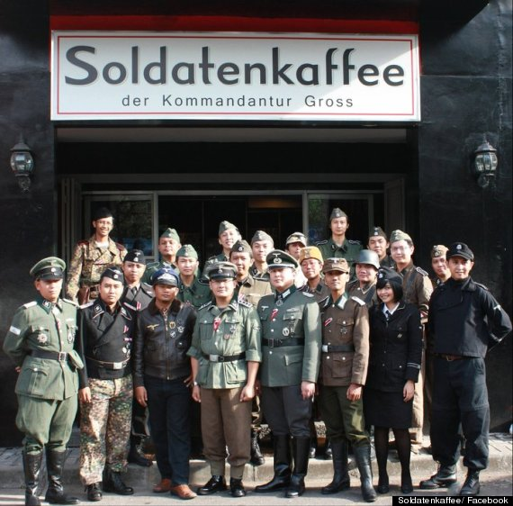 nazi themed cafe