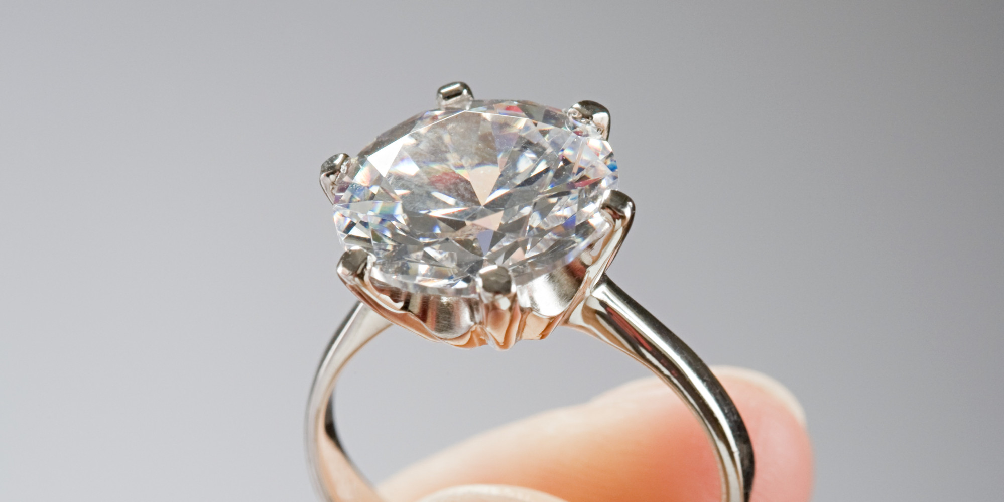 Your Engagement Ring Belongs On Left Finger Not In Suitcase