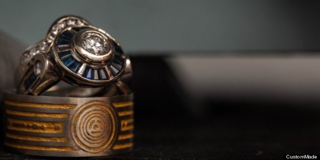 Star Wars Wedding Ring Is Inspired By C3PO PHOTOS HuffPost