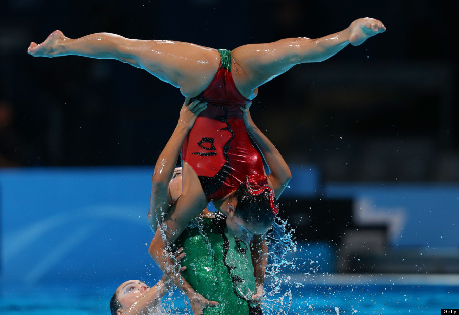 8 Amazing Pictures Of Synchronised Swimming From The Fina World Championships