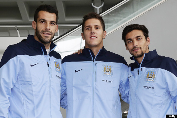 manchester city signings