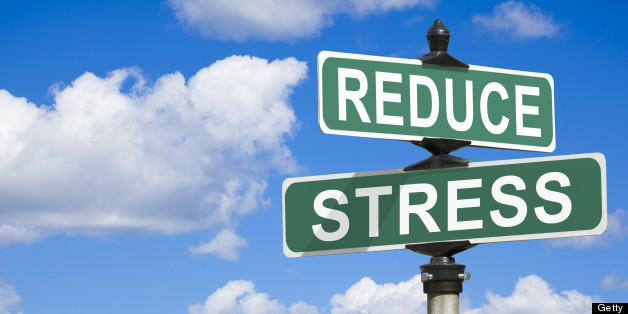 Reduce Stress Street Sign