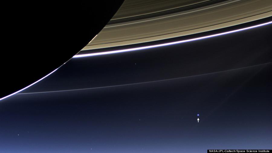 cassini earth