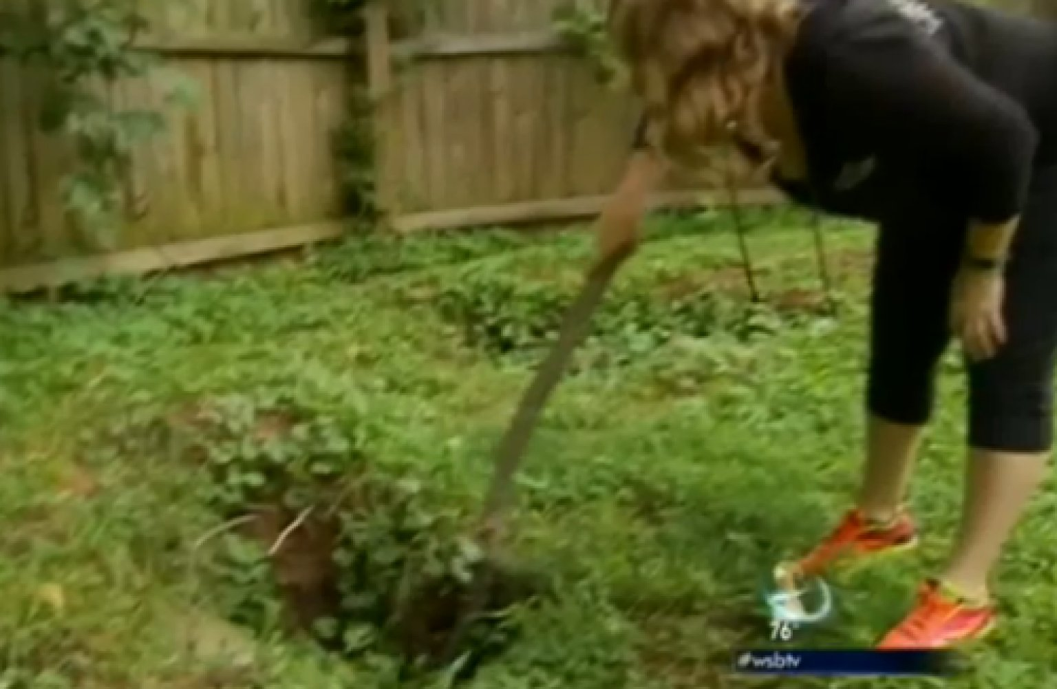 Atlanta Sinkholes Baffle Resident Lori Woroschuk, Who Apparently Cannot  Stop Poking At Them | HuffPost
