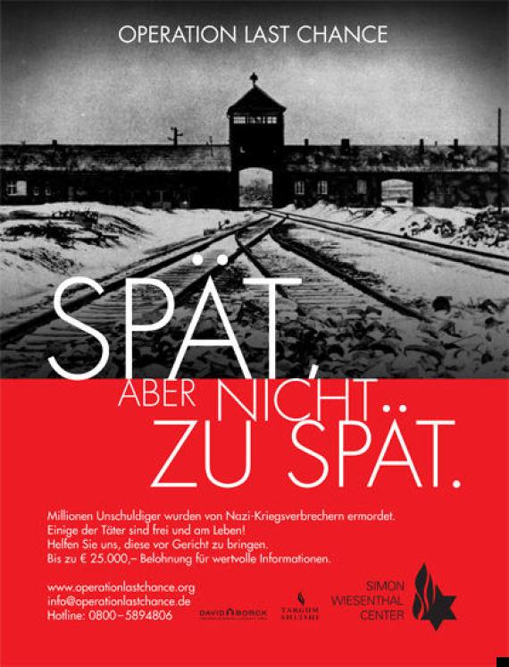 nazi hunter post campaign