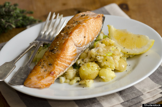 salmon and potato