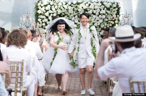 beth ditto wedding