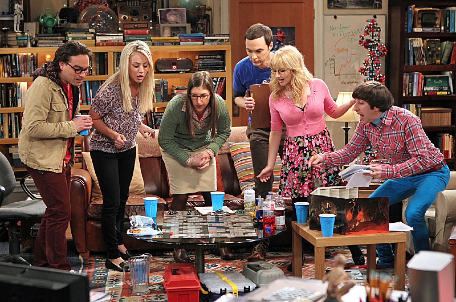 Christine Baranski Big Bang Theory Porn - 'Big Bang Theory' Season 7: Johnny Galecki, Melissa Rauch And More On  Family Members, Sex And Dream Guest Stars | HuffPost