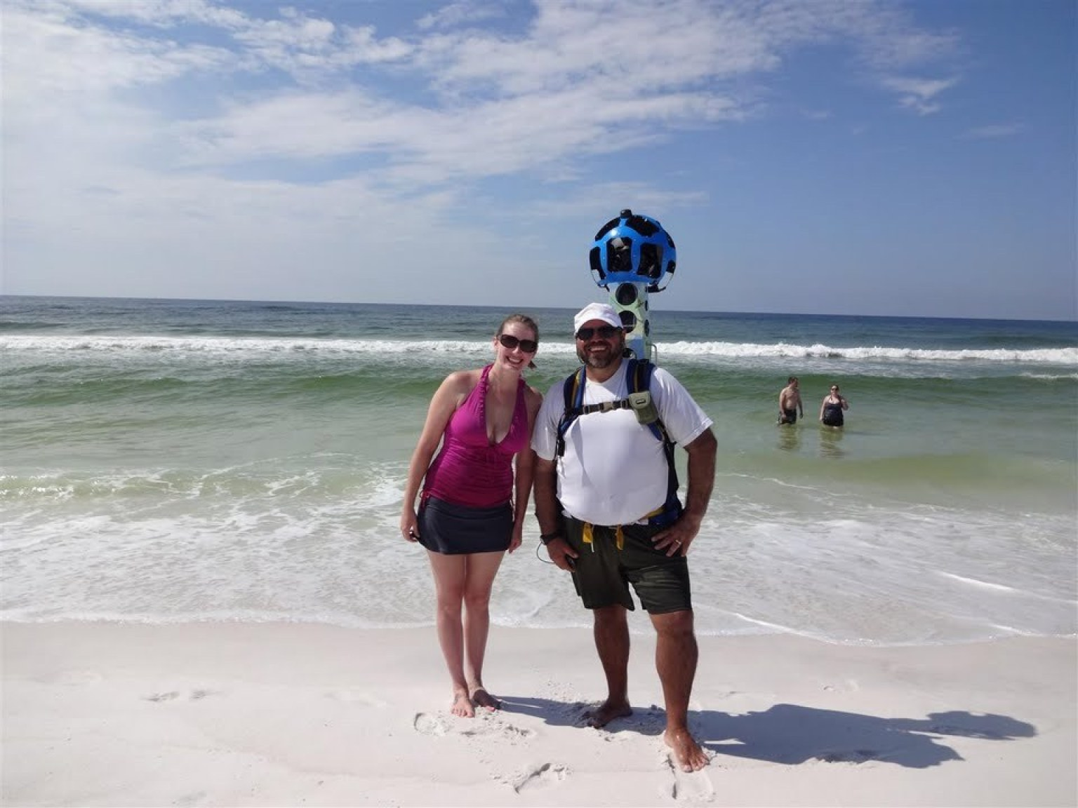 . florida beaches to be on google maps after mile trek  huffpost